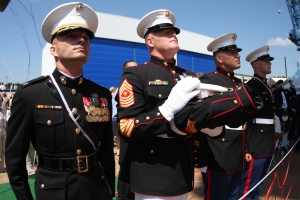 The Marine Corps has established a continuity of tradition while remaining relevant to today's wars and their uniforms display that