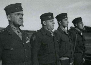 World War 2 Marine officers