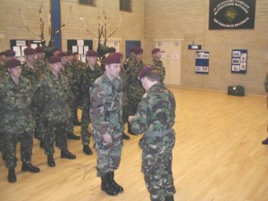 In 2001 I was attached to the British Army's 4th Battalion, The Parachute Regiment