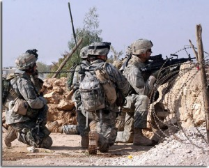 ACU worn in Iraq