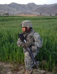 Acu worn in Khost, Afghanistan