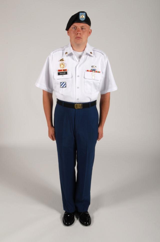 Sleeve Short Uniform Army Elvis