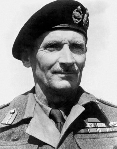 World War 2 British General Montgomery