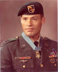 MOH recipient Col Howard has 12 ribbons one of which is a distinguished service cross