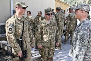 Multicam pattern on left and ACU pattern on the right
