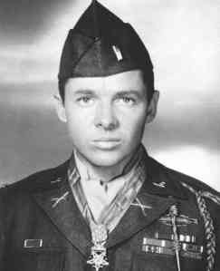 Audie Murphy the most decorated soldier in Army history was barely 5'6 tall. He received a battlefield commission in WW2