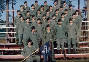 3rd battalion Rangers in the 1980s back when the OG107 was still authorized for wear