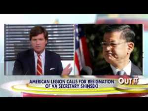 Shinseki blamed for VA scandal during President Obama's 2nd term.