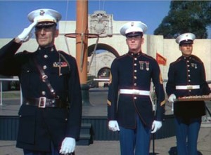 The current uniforms for Marines today are not that different from those in World War 2