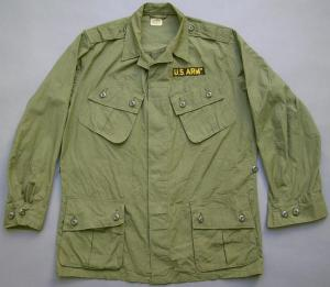 The OG107 coat from the Vietnam era